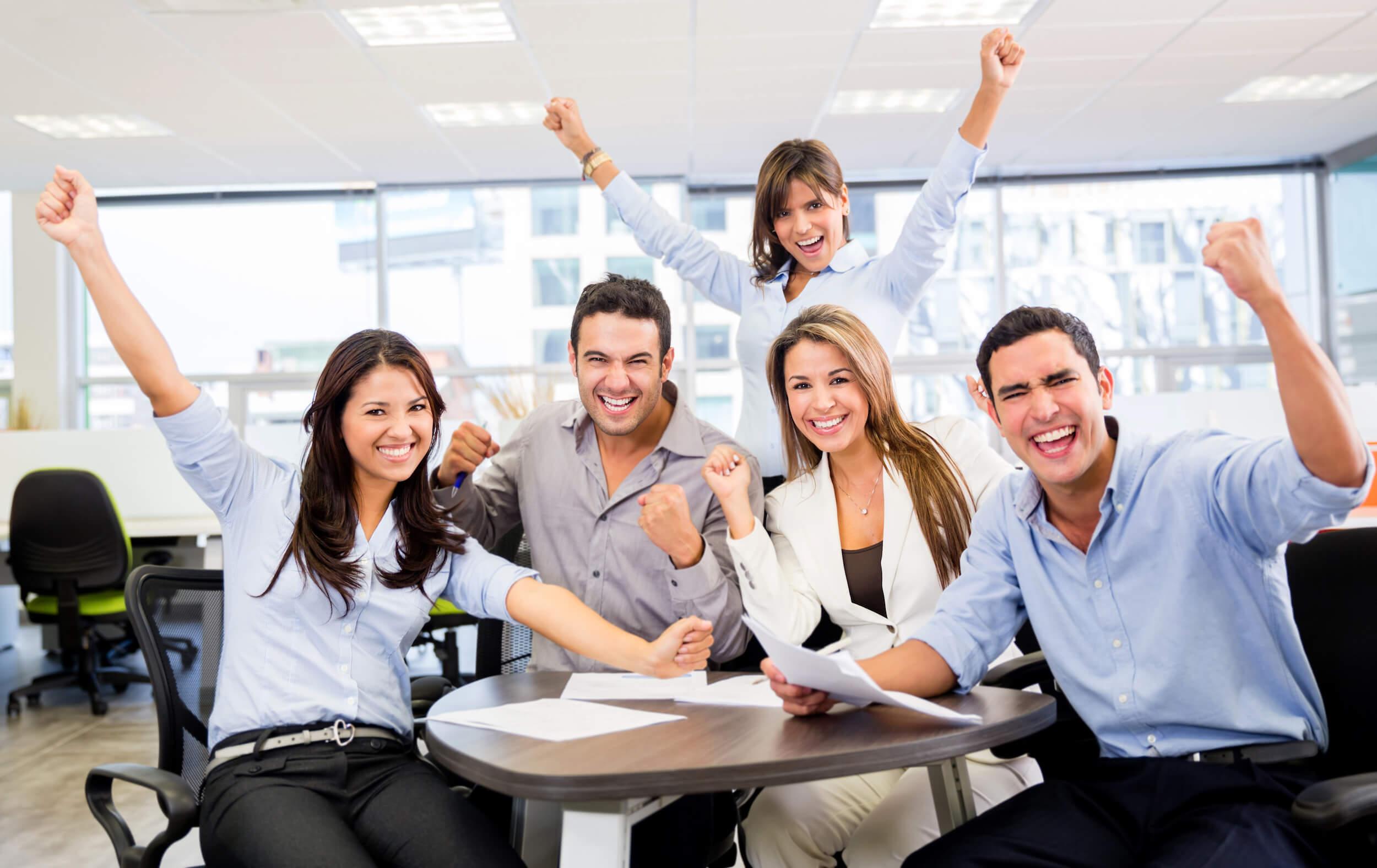 trabajo en equipo en una empresa