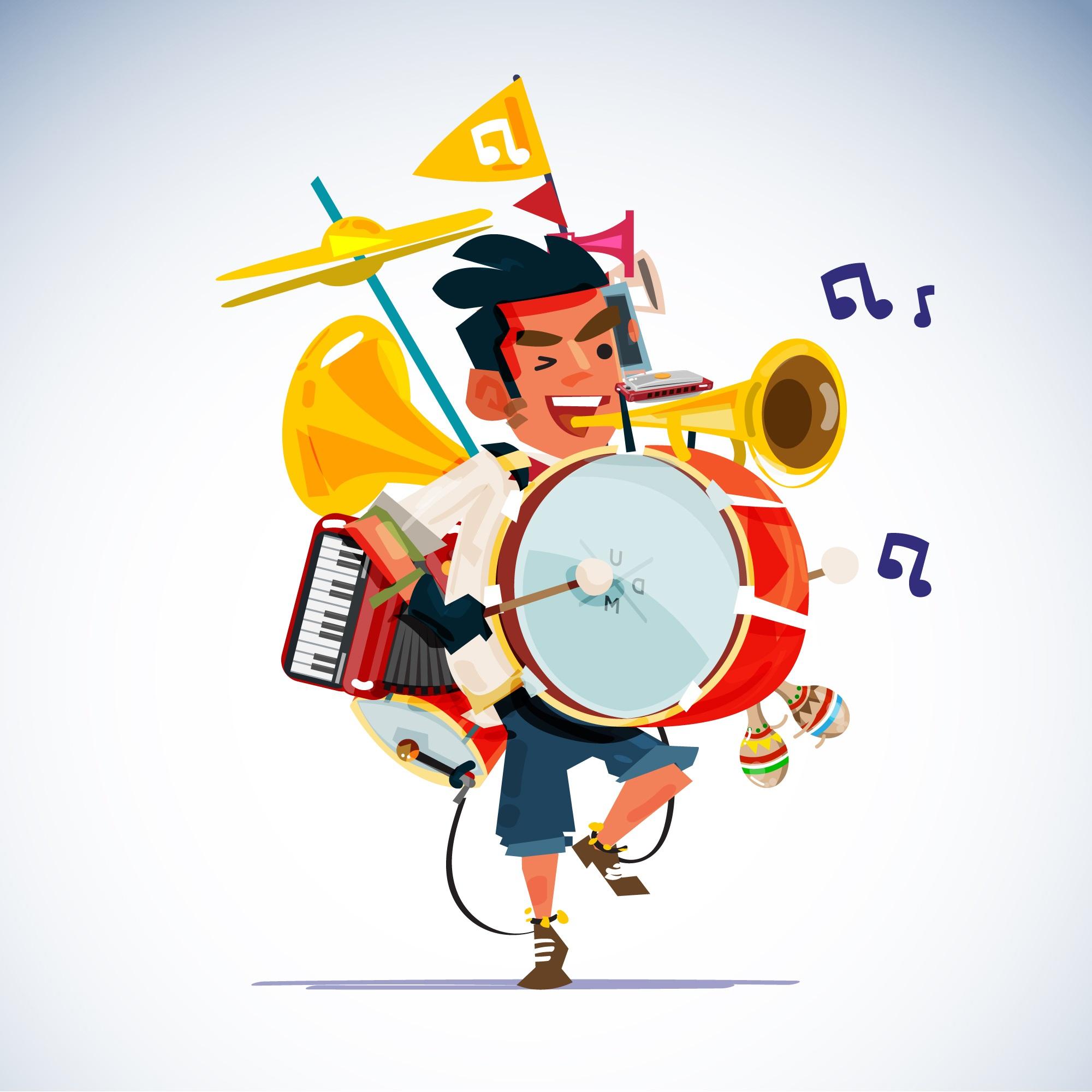 ¿Tienes el síndrome del hombre orquesta?