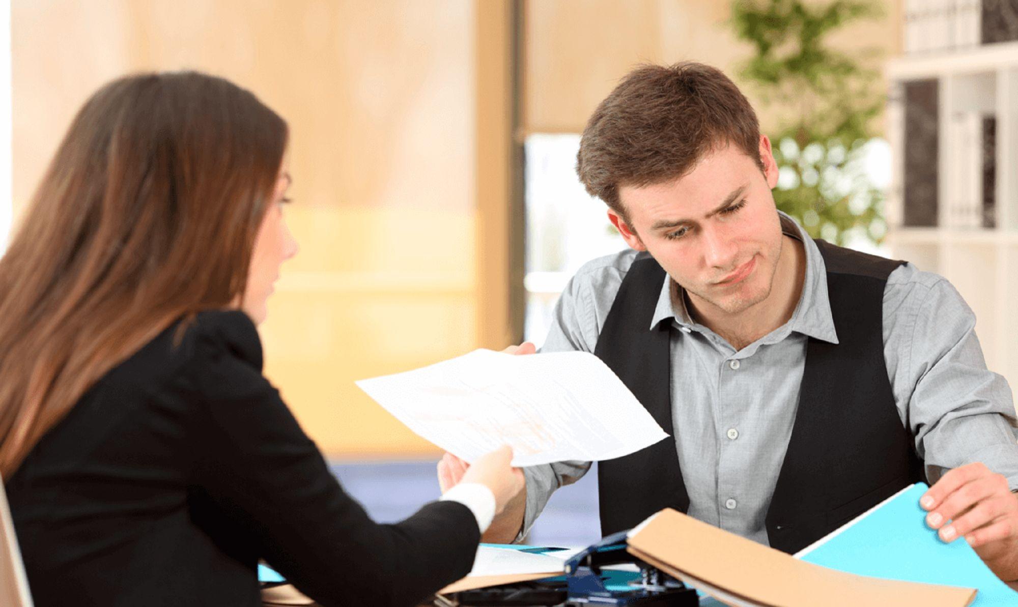 entrevista de trabajo sin reclutador
