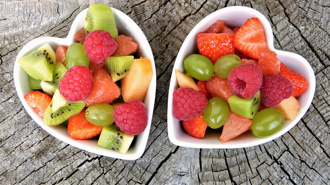 comer frutas y verduras