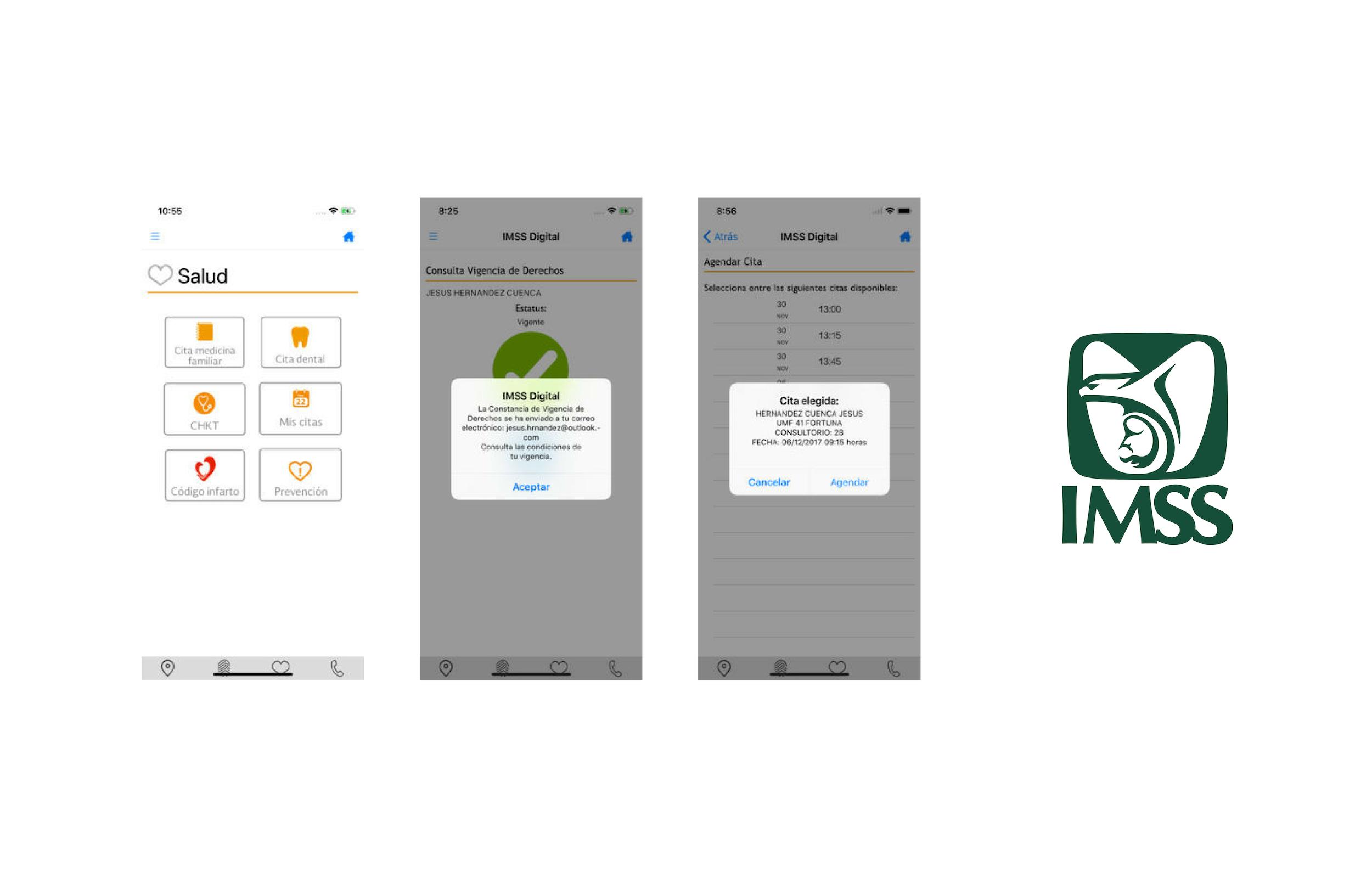 app movil del IMSS