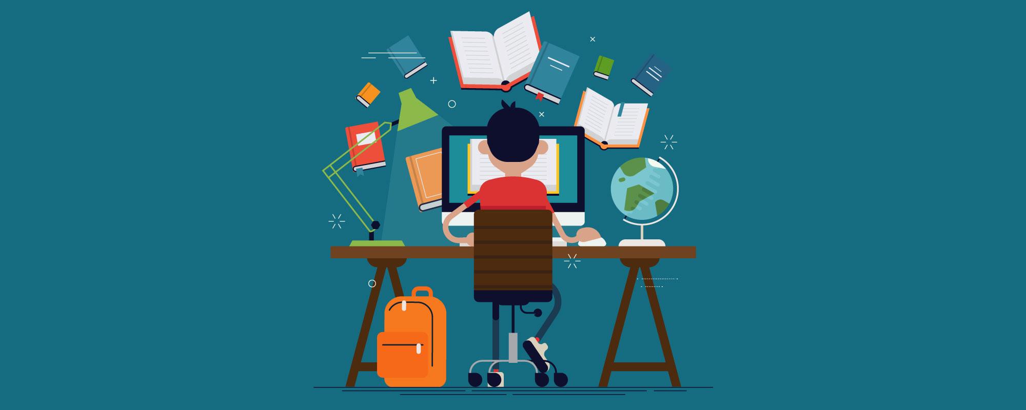 desventajas de estudiar en línea