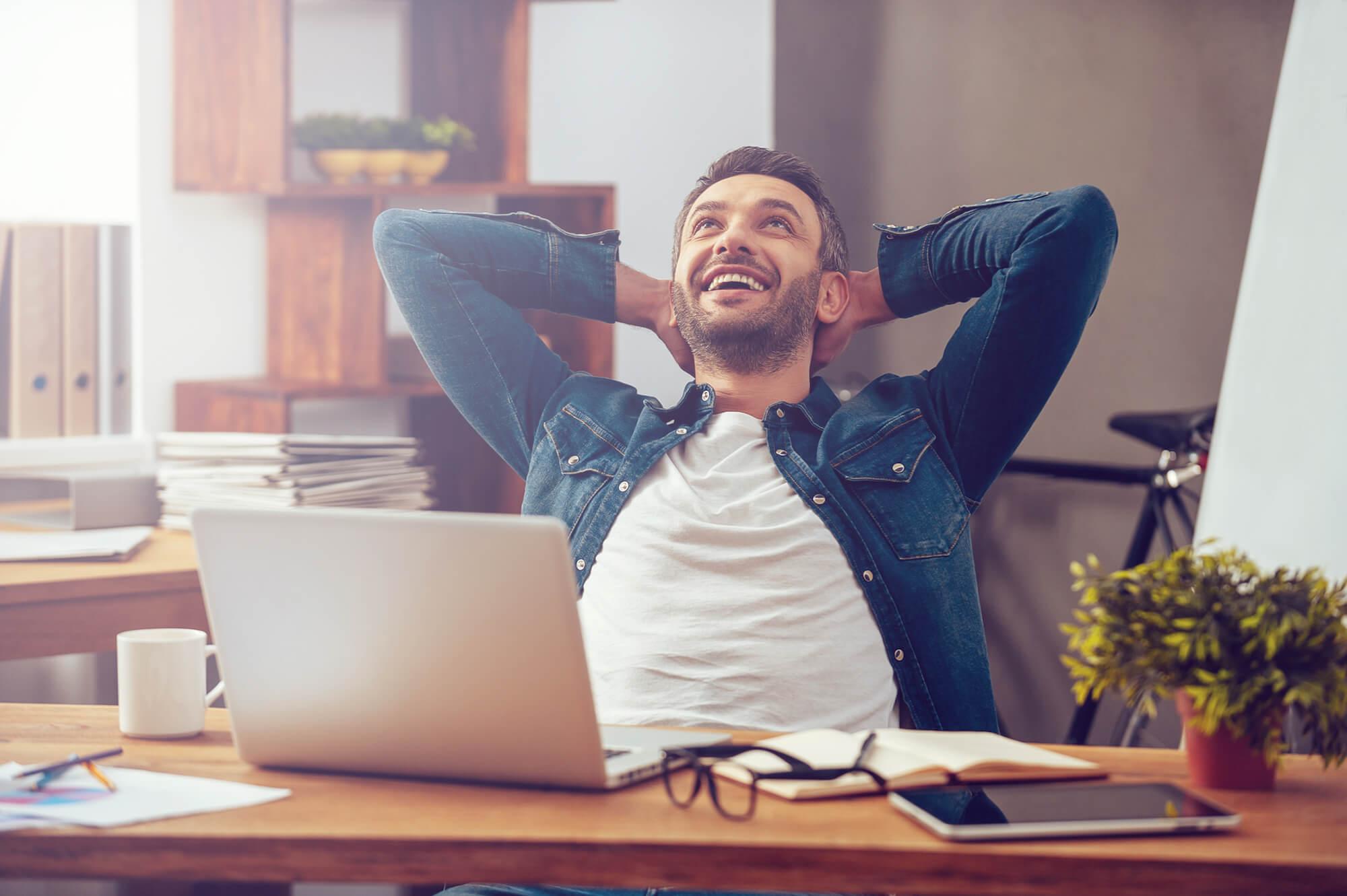 ventajas de ser feliz en el trabajo