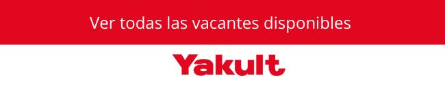 vacantes disponibles en Yakult