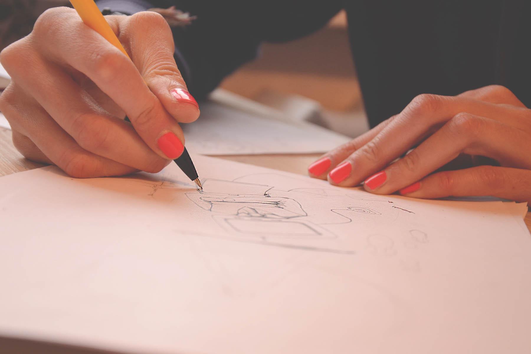 cómo dibujar en un examen psicométrico